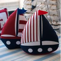 China MEDITERRANEAN-STYLE SERIES OF CLOTH BOAT-SHAPED PILLOW CUSHION on sale