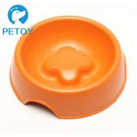 China Degradable Bamboo Pet Bowl Commercial Slow Eating Dog Bowl BSCI Approved on sale