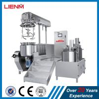 Titling Vacuum Emulsifying Machine Cosmetic Cream Mixer 100L 50L 200L 300L 500L 1000L Manufactures