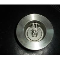 Light weight single plate wafer check valve applicable to water supply system, petroleum Manufactures