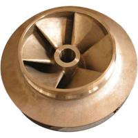 Silicon brass, tin bronze water pump impeller for electric power fitting Manufactures