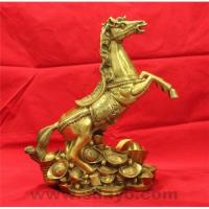 Bronze gold ingot horse Manufactures