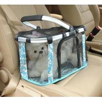Metal handle pets carrier, pets baskets bag, mesh dog bag Manufactures