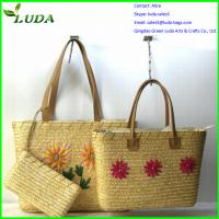 2014 popular cheap wheat straw bags for crafts Manufactures