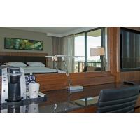 HIgh End 5 Star Hotel Furniture Bedroom Sets , Hospitality Case Goods Oak / Walnut Wood Manufactures