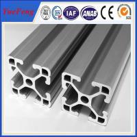 China 6063 t5 aluminium extrusion for assembly line t slot supplier,aluminum industrial profiles wholesale