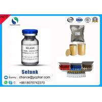 Selank Injectable Synthetic Analogue Nootropic Anxiolytic Peptide CAS 129954-34-3 Manufactures