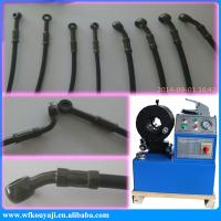 Quality high pressure hydraulic hose fitting crimping machine for sale