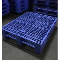 Single Faced Recycled Storage Heavy Duty Plastic Pallet  For Warehouse Manufactures
