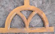 Antique Cast Iron Window Frames European Style H19*W32CM For Home Decorations