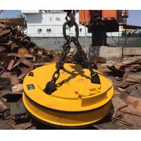 China 27.3KW Industrial Lifting Magnets / Magnetic Lifting Devices For Screp Metal Hoisting on sale