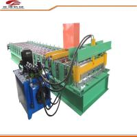 914-750 Type Trapezoidal Sheet Roll Forming Machine 5.5kw Power For Industry Manufactures