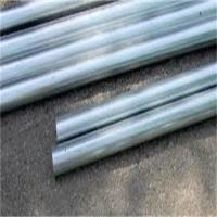 Schedule 40 Galvanized Steel Pipe , Galvanised Steel Tube White Color Manufactures