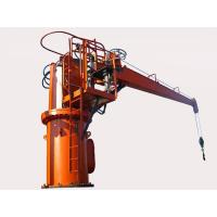 10 Ton Mobile Harbour Crane , High Control Precision Port Material Handling Equipment for sale
