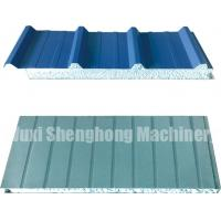 China Continuous EPS Sandwich Panel Production Line 0.286 - 0.6mm Thickness on sale