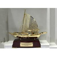 Zinc Alloy Arab Fishing Boat Culture Souvenirs As Business Gifts Custom Logo Available Manufactures