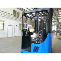 China 2T Electric Reach Truck , 2.5T Narrow Aisle Reach Truck With Leaning Back Function on sale