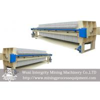Automatic Recessed Chamber Filter Press for Mineral Dewatering Manufactures