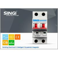IEC60898 ISO9001 Electrical mini circuit breaker overcurrent protection Manufactures