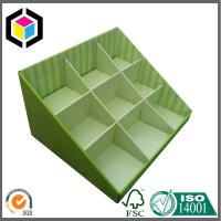 Green Color Corrugated Display Counter Box; Recyclable Cardboard Display Box Manufactures