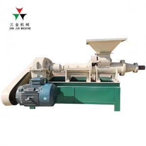 China Coal Charcoal Rods Briquette Making Machine / Coal Charcoal Sticks Extruder Machine on sale