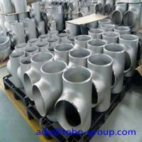 1 - 72 inch Stainless Steel Pipe fittings Tee for Petroleum WP310S Manufactures