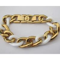 Classic Gold Stainless Steel Fashion Ceramic Bracelets for Women Manufactures