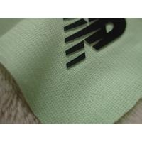 Two Layers Color Silicon Heat Transfer Clothing Labels With Soft Hand Feel For Outdoor Garment Manufactures