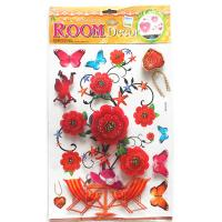 China Home deco 3D Handmade Sticker factory supply on sale