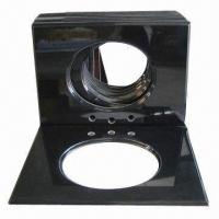 Black Granite Procelain Bathroom Vanity Tops with Good Quality Manufactures