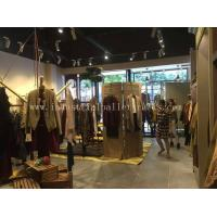 Custom Wood Display Shelving & Stands For Garment Shops / Wine Stores / Malls Manufactures