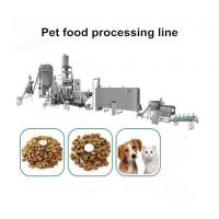 In Stock High Tech Animal Feed Processing Machine For Making Dog Food Manufactures