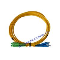 China High Durability SC / APC Fiber Optic Patch Cord with LSZH jacket Ceramic Ferrule on sale