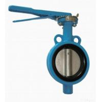 Quality Lever Operated Wafer Butterfly Valve for sale