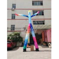 China Advertising 2 Lane Inflatable Dancing Man Mr.Welcome With Air Blower on sale