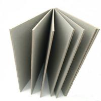 1250gsm Recycled Mixed Pulp Strawboard Paper In Sheets Carton Boxes Manufactures