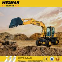 Brand new SDLG 15ton digger , mini wheeled excavator LG6150E adopting VOLVO technology  for sale Manufactures