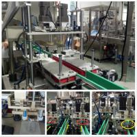 Four Wheel Pinch Linear Capping Machine Electrically Controlled Movement Manufactures