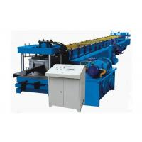 Thickness 1-3 MM Z Purlin Forming Machine , Hydraulic Drive Purlin Making Machine Blue Color Manufactures