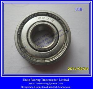 conveyor roller  bearing 6208  2RS chrome steel GCr15 precision grade P6 P0,ZV1 stable quality conveyor system usage
