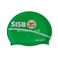 silicone swim hat with logo and colorful swim cap Manufactures