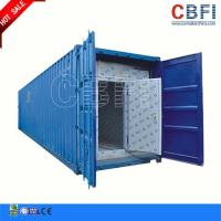 Refrigeration 20 Ft 40ft Container Cold Room / Freezer Shipping Containers For Fish Meat Storage Manufactures