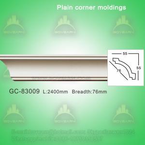 Decorative plain cornice crown moulding Manufactures