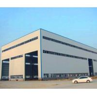 GB Hot Rolled Steel Prefabricated Steel Structure Metal Storage Shed Manufactures