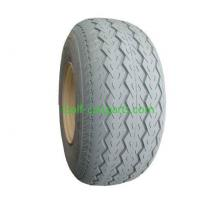 10 Inch Golf Cart Tires Non Mark Grey PU Filled Rubber For Yamaha Manufactures