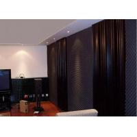 Home Theatre Insulating Acoustic Foam Panels / Sheet Open Cell 2m Wavy Shape Manufactures