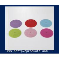 China Custom Soft PVC 3D Rubber Coaster for Beer and Drink , PVC Business Promotional Products on sale