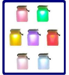 Sun Jar -- Solar Power LED Mood Light Manufactures