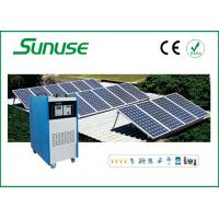 Off grid Home industrial Solar Power System for PV charging CE / ROHS Manufactures