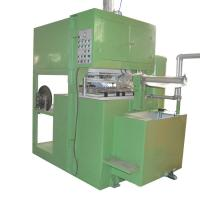 Custom Color Semi Automatic Egg Tray Machine With PLC Control Easy Operation Manufactures